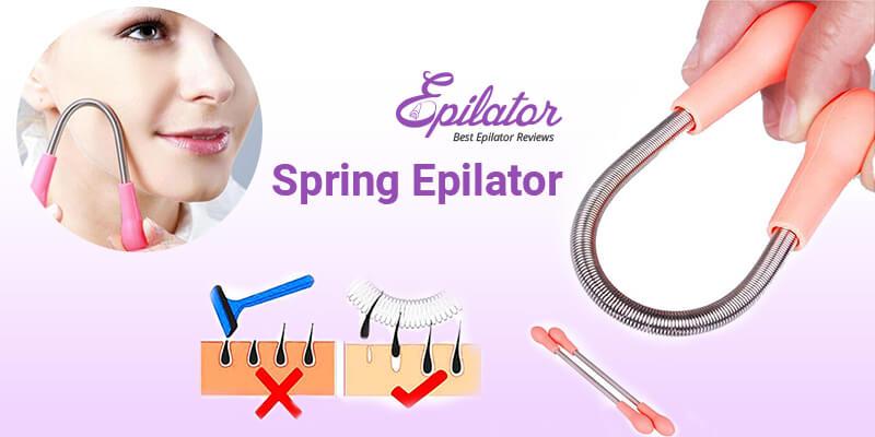 Spring epilator
