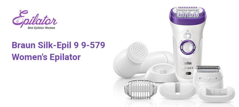 Braun Silk-Epil 9 9-579 Women's Epilator