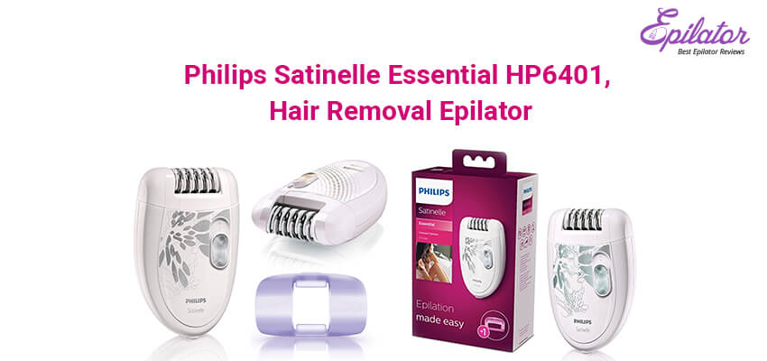 Philips-Satinelle-Essential-HP6401,-Hair-Removal-Epilator