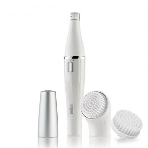Braun 820 Facial Epilator and Facial Cleansing Brush